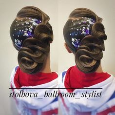 Работаю на Кубке Санкт-Петербурга! Вallroom hairstyle by Darya Stolbova Имидж-студия @artecreo Запись: +7 (977) 804-22-01 / Direct. #ballroom #ballroommakeup #ballroomhairstyle #artecreo #артекрео #stylistStolbova