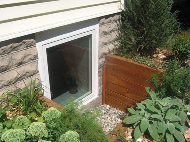 basement windows basement window well covers and egress window wells