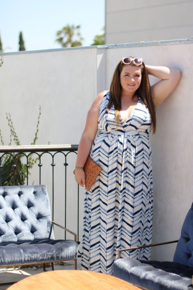 Trendy Curvy Plus Size Dresses Tart Collections Chloe Dress Watercolor chevron