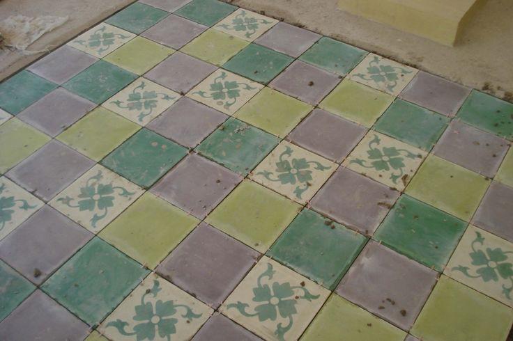 pisos de mosaicos y revestimientos calcareos