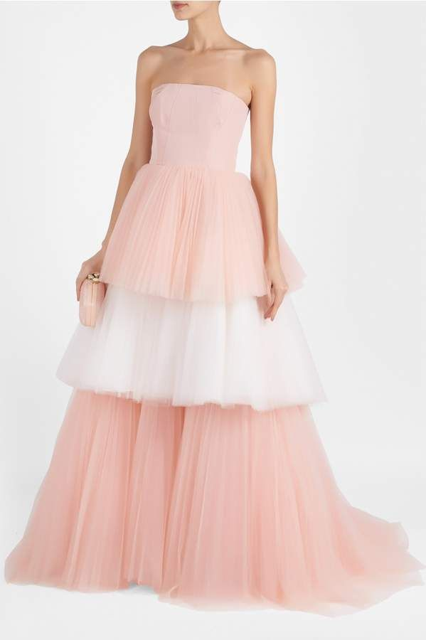 8261fa97a6f2 Bustier Tulle Gown | African weddings in 2019 | Tulle gown, Dresses ...