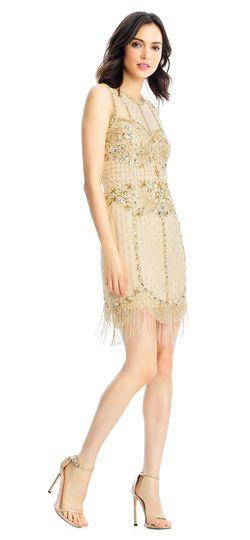 Fringed Cocktail Dress 2018