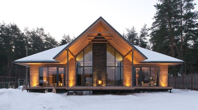 Стили домов мира | ГЕОДОМ - строительство деревянных домов под ключ.