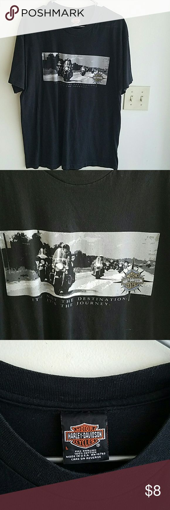 HD tee, Sz Lg, San Diego, CA Good condition, 10+yrs, havent worn Harley-Davidson Shirts Tees - Short Sleeve