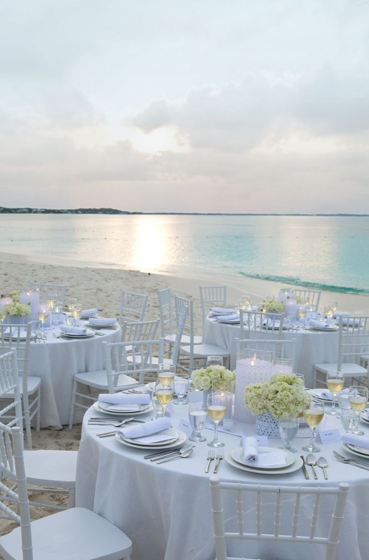 best beach wedding locations on budget%0A beach wedding  So simple and beautiful  Would have a lot more candles to  make