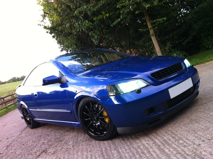 Customers Astra Coupe Turbo 303BHP www.ukdetail.co.uk