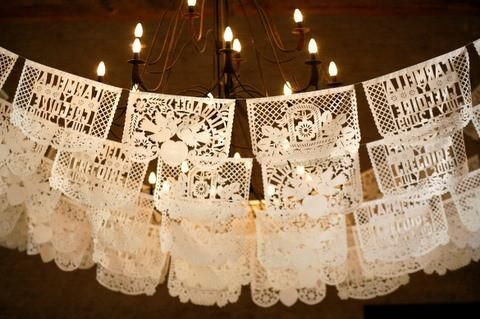 Wedding Papel Picado Banner - Marry Me Wedding Accessories & Gifts - 3