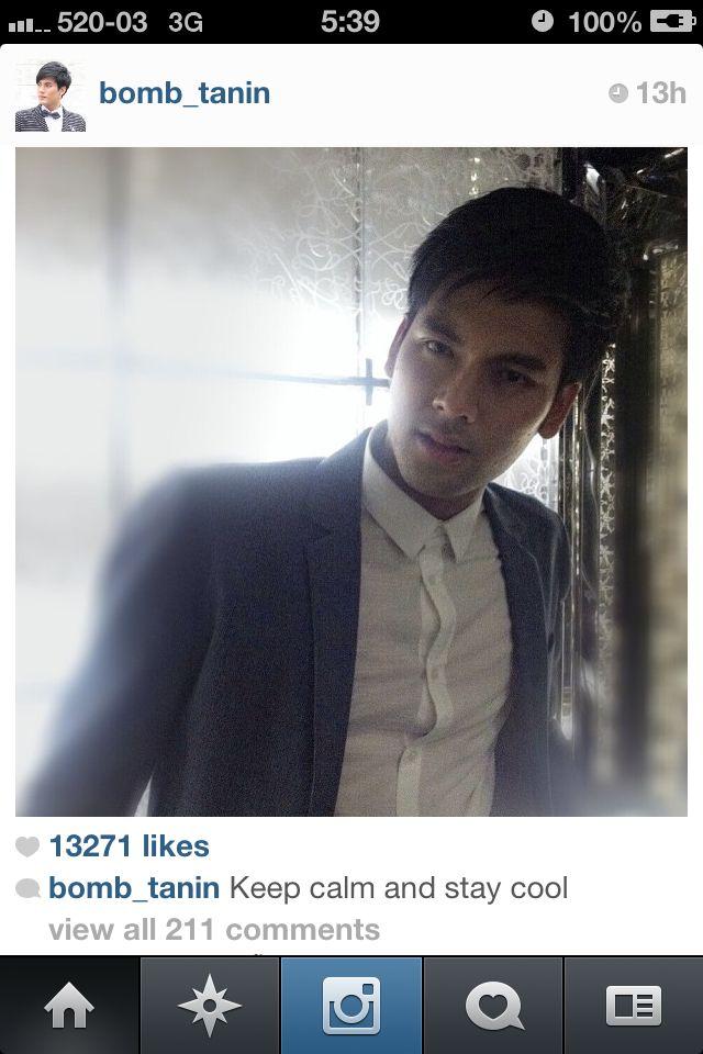 Bomb tanin >Thai rising star actor