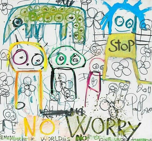 No worry - Poul Pava canvas