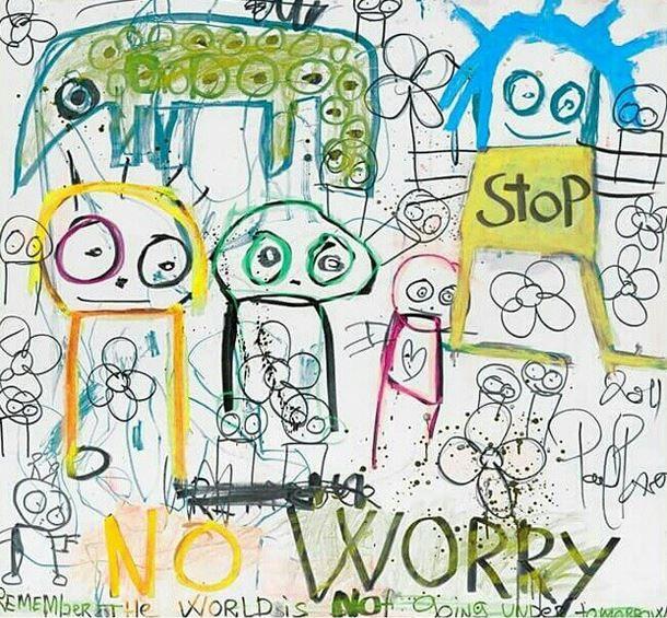 No worry - Poul Pava canvas