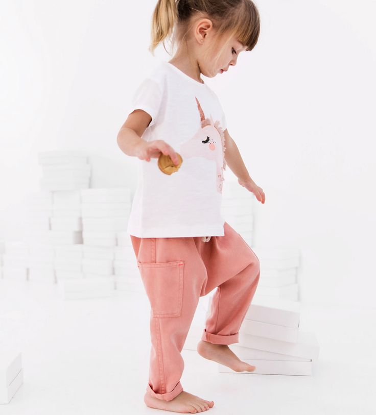 TROUSERS WITH POCKETS-LEGGINGS AND TROUSERS-BABY GIRL | 3 months - 4 years-KIDS | ZARA United States