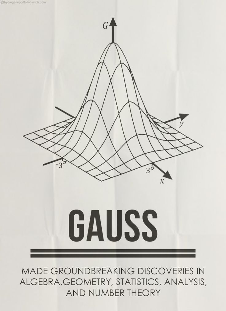Gauss and his work with Vector Fields were groundbreaking. Certainly was interesting when doing my EPQ.