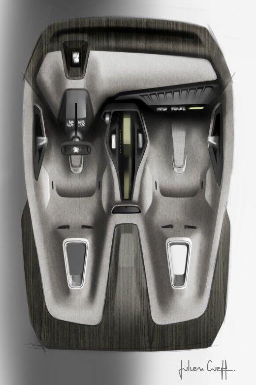 История создания Peugeot Onyx (+ видео) - Cardesign.ru - Главный ресурс о транспортном дизайне. Дизайн авто. Портфолио. Фотогалерея. Проекты. Дизайнерский форум.