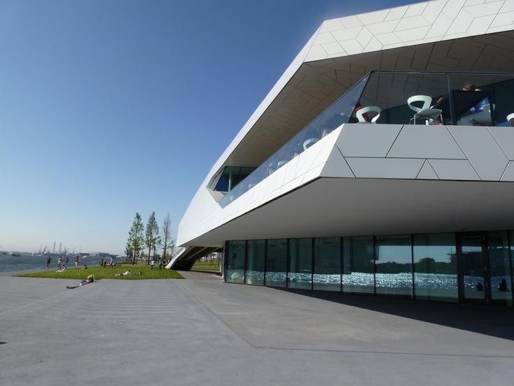 eye - new filmmuseum amsterdam 2012.  architects: roman delugan and elke delugan - meissl.