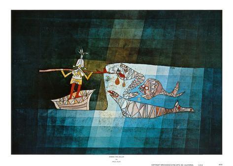 Sinbad the Sailor Art Print Paul Klee