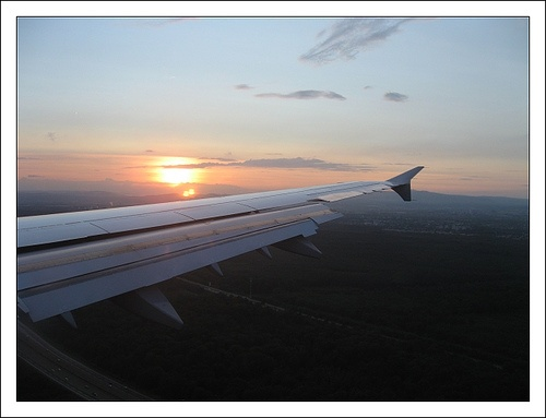 Sunset in Nice, via Flickr