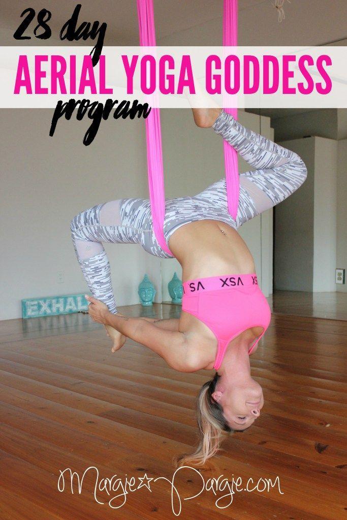 Aerial Yoga Goddess Program                                                                                                                                                                                 More