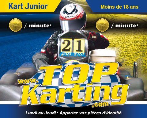 Top Karting Gatineau- certificat cadeau