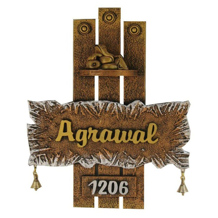 The 25 best house name plates ideas on pinterest house for Mural name plate