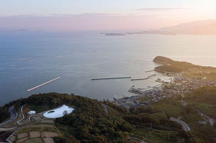 Teshima Art Museum,© Iwan Baan