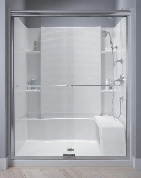 Sterling Kohler Walk In Shower Sterling Shower Units