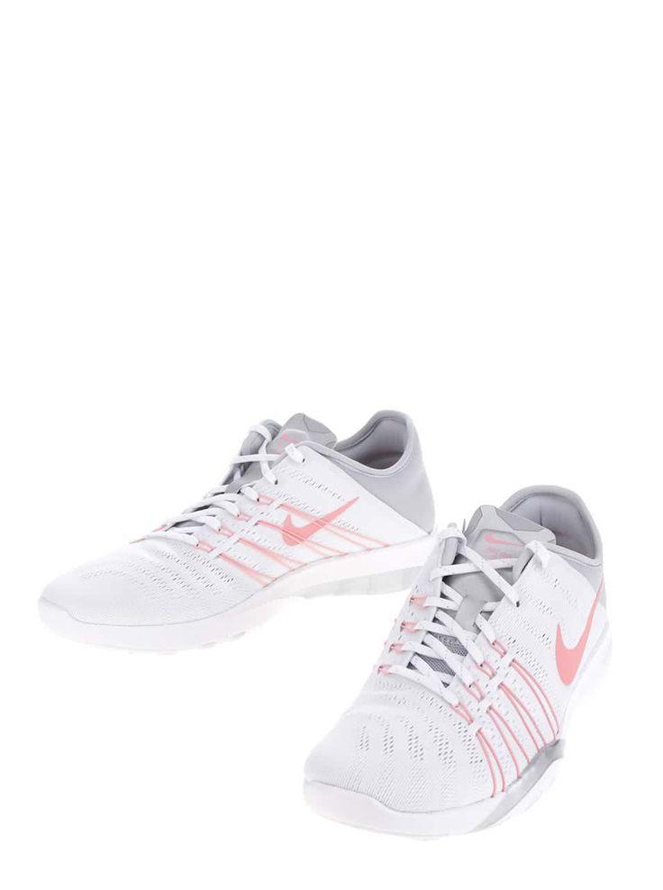 Šedo-bílé dámské tenisky Nike Free 6