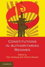 This recent book includes a chapter by Jennifer Gandhi on presidential power in authoritarian elections