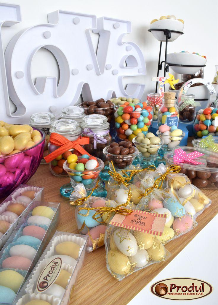 Mesas de Chocolates y dulces