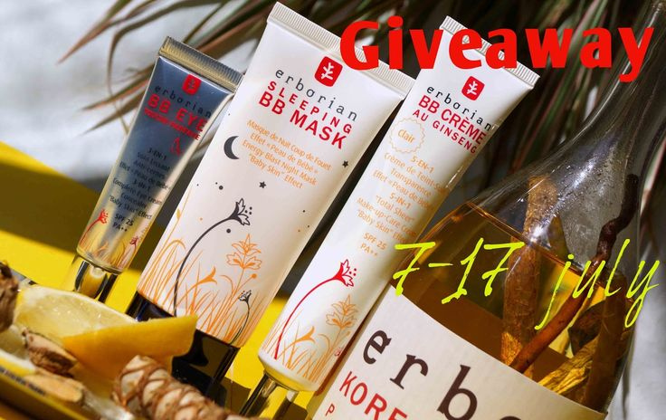 Beauty Unearthly: Giveaway by Ami Beauty Unearthly - Erborian / Розыгрыш у Ами часть II