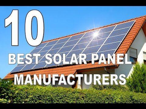 10 Best Solar Panel Manufacturers in India - YouTube | SOLAR DELER