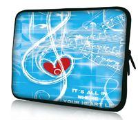Музыка сердца 12  неопрена мягкая ноутбука нетбука чехол мешок для 11.6  Dell alienware m11x, Водонепроницаемый, Противоударно