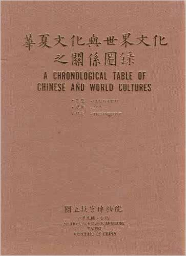 A Chronological Table of the Chinese and World Cultures: Philosophy, Art, Technology: Amazon.co.uk: National Palace Museum Staff: 9789575620271: Books