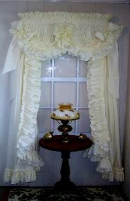 Country Ruffled Curtains and Priscilla Curtains at Delores' Ruffles