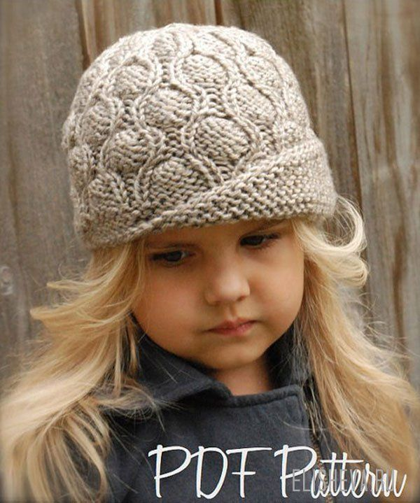 Идеи для вязания шапочки девочке
