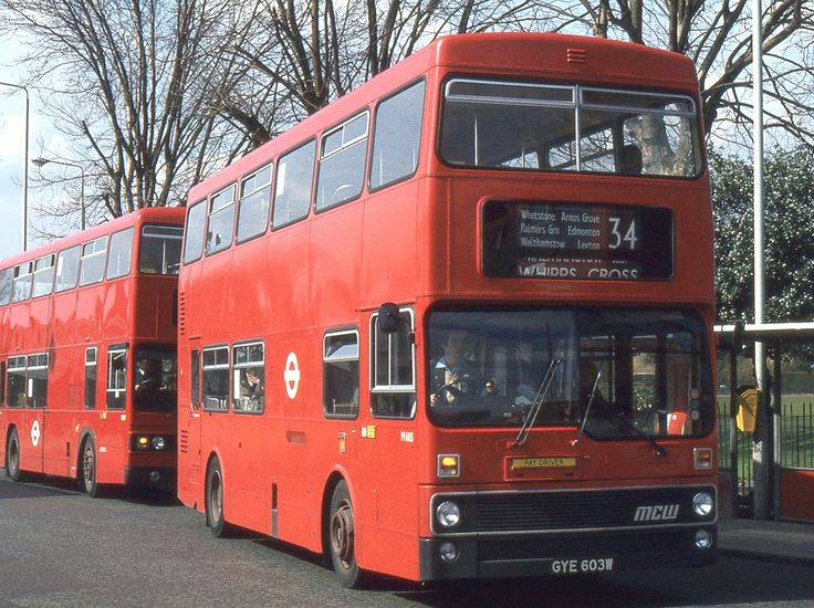 https://flic.kr/p/aXHAfR   London Transport . M603 GYE603W . Walthamstow Central Bus Station , London . 23rd-March-1982 .   MCW. Metrobus DR101 / 4  -  MCW  H71D .   From Palmers Green ( AD ) garage M603 heads out of Walthamstow Central Bus Station . On Route 34 bound for Whipps Cross .    23rd-March-1982 .