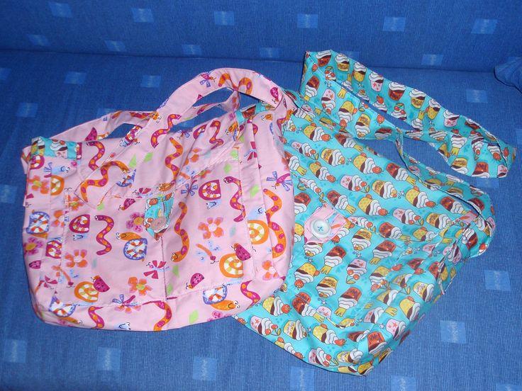 vlastnoručně šité tašky (handmade bags)