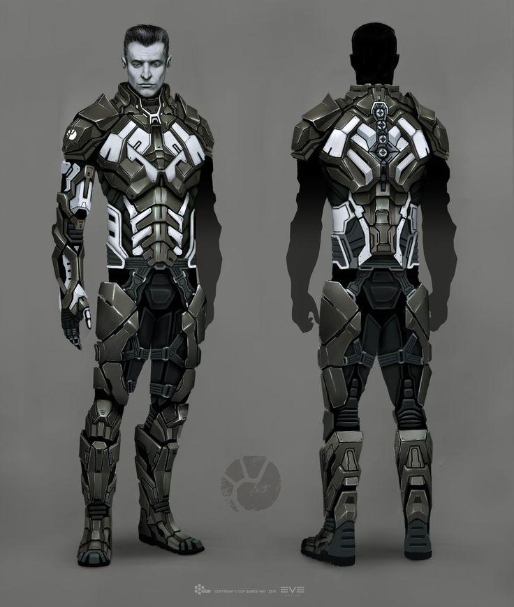 10.6 MB: ArtStation - EVE Online - Combat Suit - Concept, Jakob Falkenberg