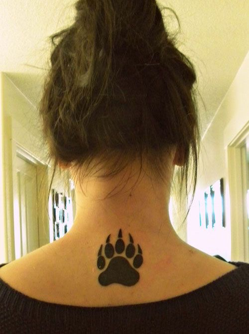 25 Adorable Bear Claw Tattoo Designs | CreativeFan