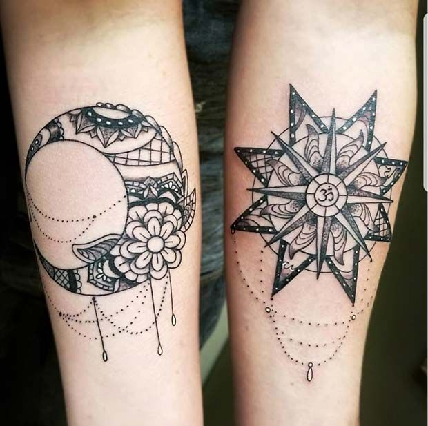 63 Cute Best Friend Tattoos For You And Your Bff Page 2 Of 6 Stayglam Cute Best Friend Tattoos Friend Tattoos Matching Best Friend Tattoos