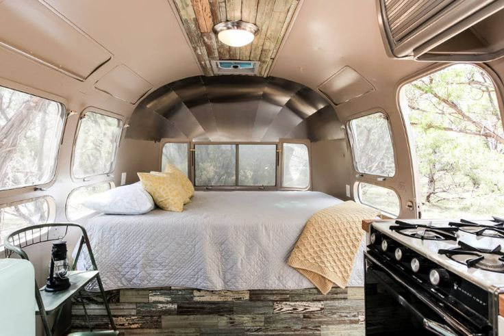 Classic Family-Friendly Airstream Rental with Modern Decor near Austin