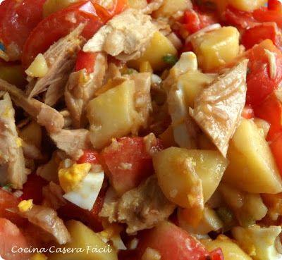 Cocina Casera Facil: ENSALADA CAMPERA
