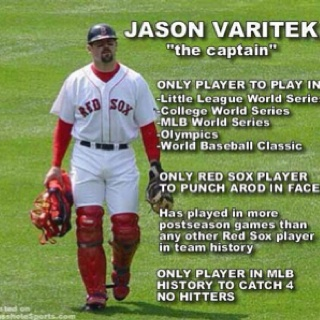 I will always love you Jason Varitek!