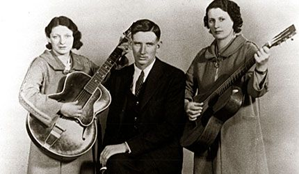 Mother Mabel and the Carter Family. Takes me back to my childhood.  Luv bluegrass & old country music.