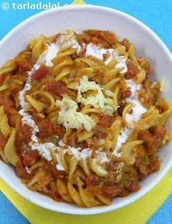 Pasta in red sauce is the most popular and loved by all age groups. . Make sure you make it as close to the serving time to enjoy it the most.