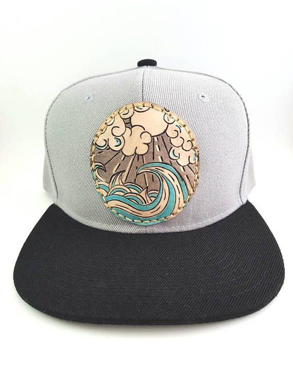 Riding on a Wave Cap