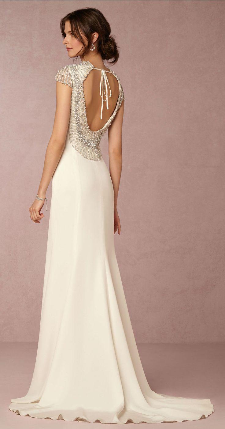 The 132 best Non-Strapless Wedding Dresses images on Pinterest ...