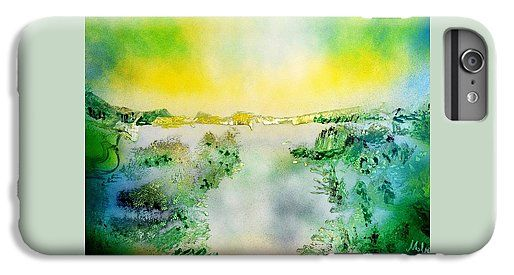 Printed with Fine Art spray painting image Lake Of Transparency by Nandor Molnar (When you visit the Shop, change the orientation, background color and image size as you wish)