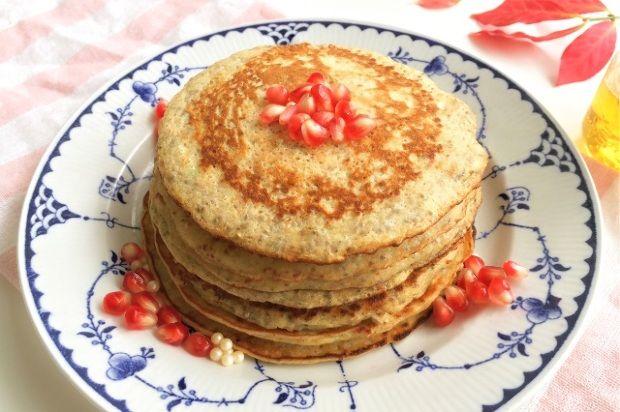 Chia palacsintaAlig kell hozzá néhány összetevő, pár perc alatt elkészítheted, variálhatod gyümölcsökkel is! Elhízni pedig biztosan nem fogsz tőle! Egészséges reggeli lehet,devacsorára is tökéletes választás, hiszen