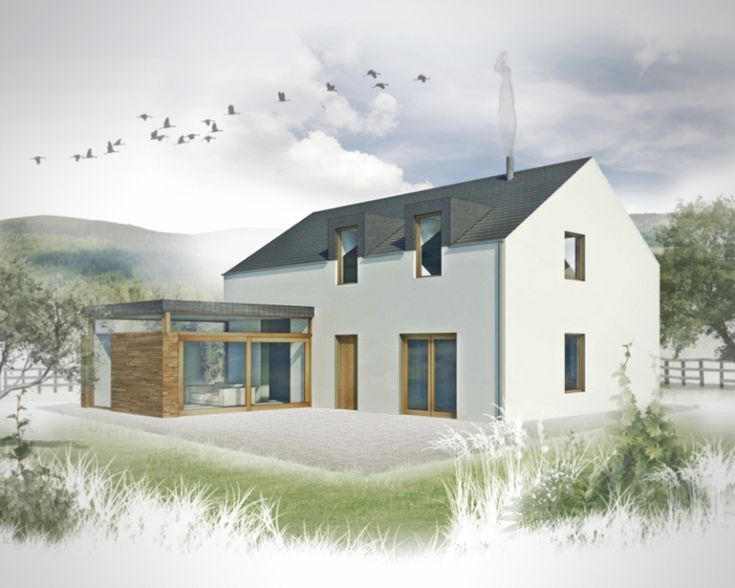 263 best irish uk rural house designs images on for Modern house designs uk