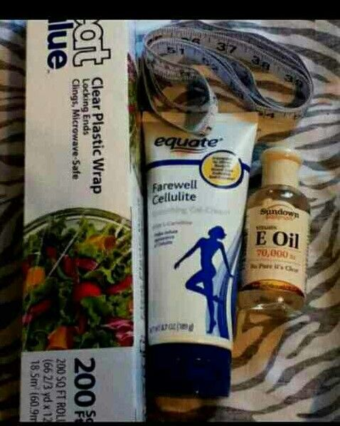 """Body wrap! SERIOUSLY try this! I lost 1 1/2"""" around my belly OVERNIGHT!  I'm so stoked!  1. Take your measurements 2.Mix the farewell cellulite & vitamin e oil and put a thick layer on the trouble spot. 3.Wrap tightly with saran wrap 4.Wrap with ace bandages 5.Go to sleep 6. Wake up and enjoy!"""